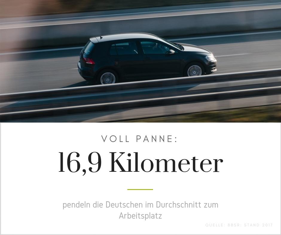 Pendler Durchschnitt Deutschland